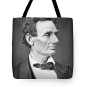Abraham Lincoln Tote Bag by Alexander Hesler