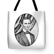 Abraham Lincoln Circa 1860 Tote Bag by War Is Hell Store