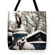 Abraham Lincoln Memorial Scotland Winter Tote Bag