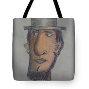Abraham Lincoln Tote Bag by Sonya Wilson