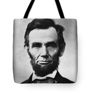Abraham Lincoln Tote Bag by War Is Hell Store