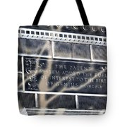 Abraham Was A Smart Man Tote Bag