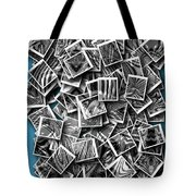 Abraxas Collage Tote Bag by Visual Artist Frank Bonilla