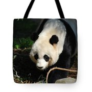 Absolutely Beautiful Giant Panda Bear With A Sweet Face Tote Bag