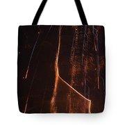 Abstarct Fireworks  Tote Bag