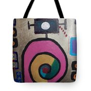 Abstract # 11 Tote Bag