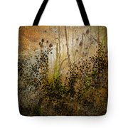 Abstract -  Burning Bush Tote Bag