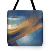 Abstract - 1 - Emp - Seattle Tote Bag