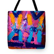 Abstract 10316 - Cropped Tote Bag