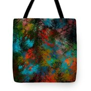 Abstract 11-18-09 Tote Bag