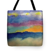 Peaking Tote Bag