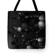 Abstract 119 Bw Tote Bag