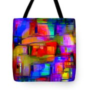 Abstract 1293 Tote Bag
