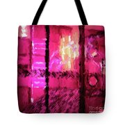 Abstract 135 Digital Oil Painting On Canvas Full Of Texture And Brig Tote Bag