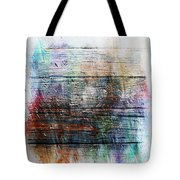 2e Abstract Expressionism Digital Painting Tote Bag