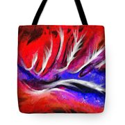Abstract #45 Tote Bag