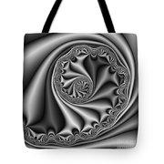 Abstract 536 Bw Tote Bag