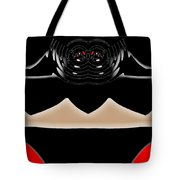 Abstract 54 Dark Side Tote Bag