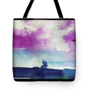 Purple Sky's  Tote Bag