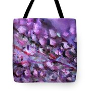 Abstract 91 Digital Oil Painting On Canvas Full Of Texture And Brig Tote Bag
