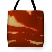 Abstract American Flag - Red, White And Blue The Star Spangled Banner Tote Bag by Adam Asar