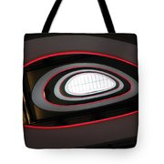 Abstract Architectural Ceiling And Staircase, Curves And Round Lines Tote Bag
