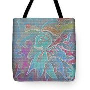 Abstract Art Fun Flower By Sherriofpalmspring Tote Bag