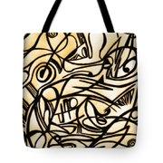 Abstract Art Gold 2 Tote Bag