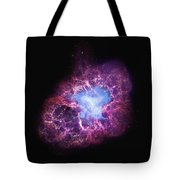 Abstract Heavenly Art - The Crab Nebula Tote Bag