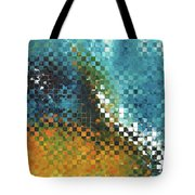 Abstract Art - Pieces 9 - Sharon Cummings Tote Bag