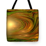 Abstract Art -the Core By Rgiada Tote Bag