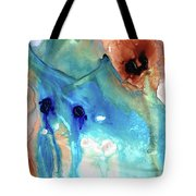 Abstract Art - The Journey Home - Sharon Cummings Tote Bag