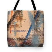 Abstract At Sea 3 Tote Bag