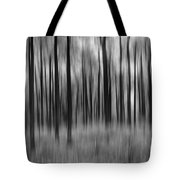 Abstract Autumn Bw Tote Bag