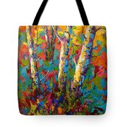 Abstract Autumn II Tote Bag
