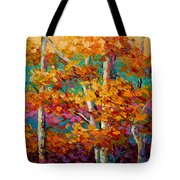 Abstract Autumn IIi Tote Bag