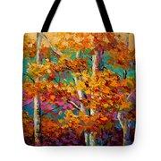Abstract Autumn IIi Tote Bag