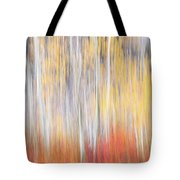 Abstract Autumn Tote Bag by Laura Roberts
