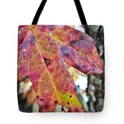 Abstract Autumn Leaf 2 Tote Bag