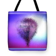 Abstract Balloon In Sky Tote Bag