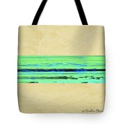 Abstract Beach Landscape  Tote Bag