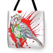 Abstract Bird 002 Tote Bag