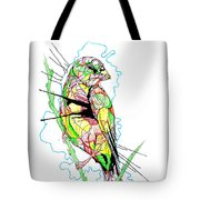 Abstract Bird 01 Tote Bag