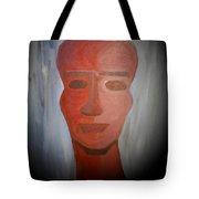 Abstract Black  Man Tote Bag