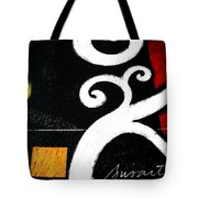 Abstract Blooms Tote Bag by Pristine Cartera Turkus