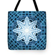 Abstract Blue 14 Tote Bag