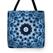 Abstract Blue 16 Tote Bag