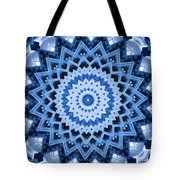 Abstract Blue 17 Tote Bag