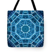 Abstract Blue 18 Tote Bag