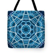 Abstract Blue 19 Tote Bag